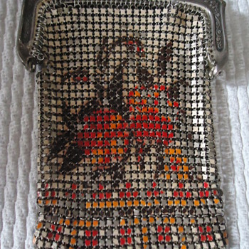 Very Nice And Original...Whiting & Davis Mesh Purse...1920's - Bags