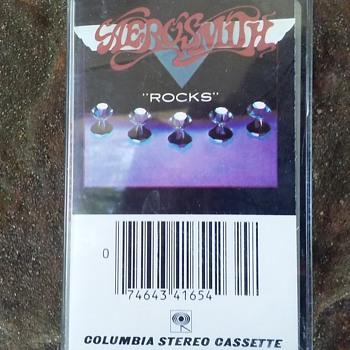 Aerosmith....On Cassette Tape Format - Records