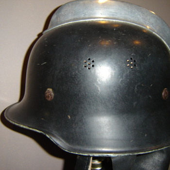 German Firefighting helmet