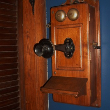 Antique Kellogg Phone - Telephones