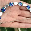 Stainton Brother Silver and Enamel Bracelet