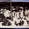 FLAPPERS, and VINTAGE car,touring car, trolley car,etc-JUST GOOD TIMES 1920s,)Original Photos