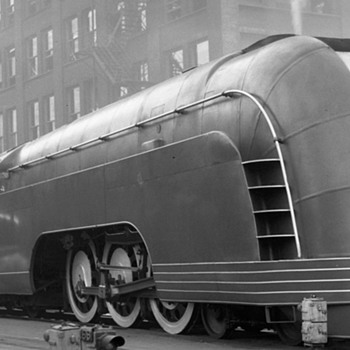 New York Central's Mercury--Symbol of Speed - Paper