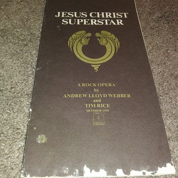 Jesus Christ Superstar...In Booklet - Music Memorabilia