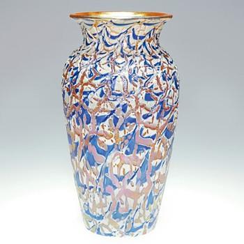 DURAND MOORISH CRACKLE  - Art Glass