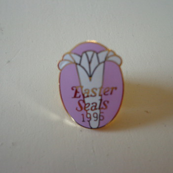 Vintage 1996 Easter Seals Pin - Medals Pins and Badges