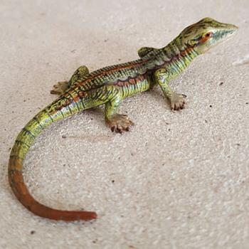 Vienna bronze lizard. - Fine Art