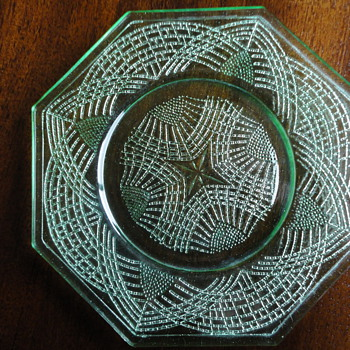 Depression glass pattern? - Glassware