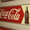 """Coca-Cola Sign  11 1/2"""" X 31 1/2"""""""