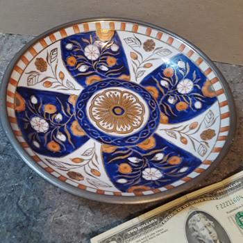 fancy NEIMAN MARCUS decorative bowl - Pottery