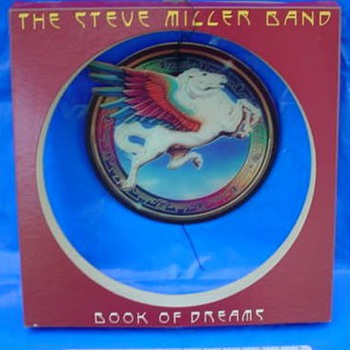 """Steve Miller """"Book of Dreams"""" 1977 3-D Mobile Store Display - Music Memorabilia"""