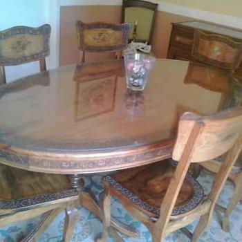diningroom suite including sideboard - Furniture