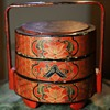 Chinese Laquer Lunchbox - Tiffin