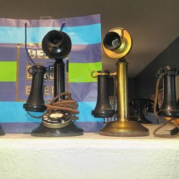 Candlestick Telephones  - Telephones
