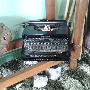 My old tipe writer.
