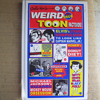 WEIRD TOON FACTOIDS--a real gem for comic & cartoon collectors - Books