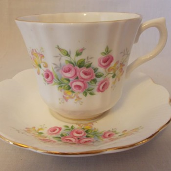 Royal Imperial cup, and saucer set - China and Dinnerware