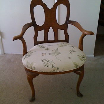 Antique Chair from Europe - Furniture