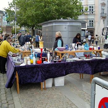 Flea market in Copenhagen ten years ago - Photographs