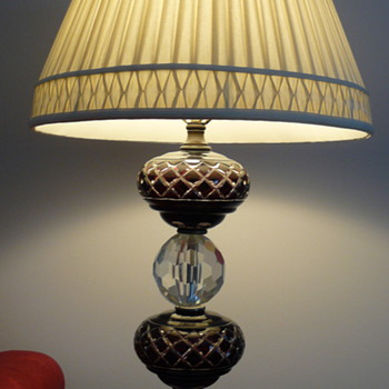 Beloved lamp, Czech crystal? - Lamps