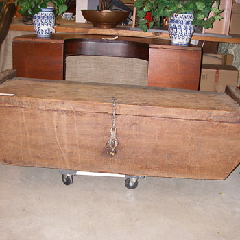Antique Seaman's Chest - Furniture
