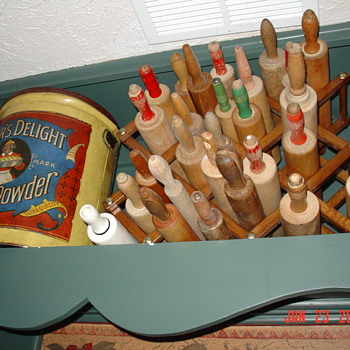 Old Wooden Rolling Pins