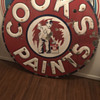 Cook's Paint Porcelain sign