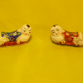 Asian Porcelain Miniatures - Asian