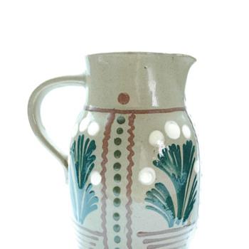 huge art nouveau jug by LEON ELCHINGER. corca 1910 - Art Nouveau