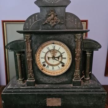 Ansonia clock identification. - Clocks