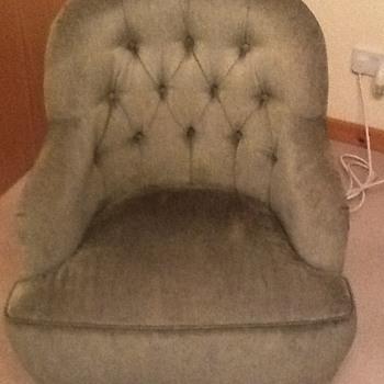 Victorian chair nursing chair I'm not sure