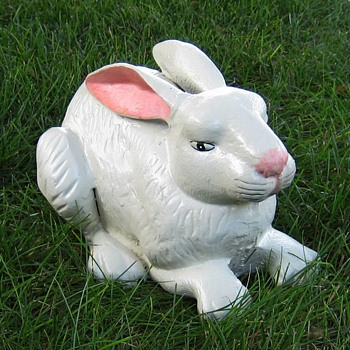 Cast Iron Rabbit - Animals