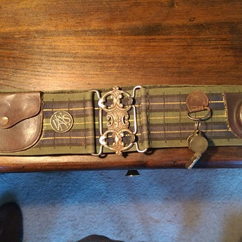 Companion Belt - Military and Wartime