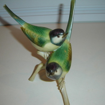 Herend of Hungary Birds - Figurines