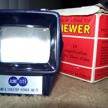 Acme-Lite Hand & Table Top Viewer No. 77
