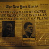 Nov 23, 1963 Kennedy Assassination NYT Newspaper