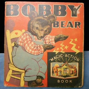 Cartoon hankies in a child's pop-up book!?!? - Books