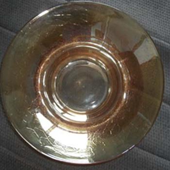 Crackle finish bowl - Glassware
