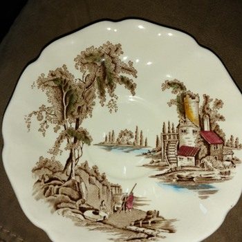 The Old Mill dishes