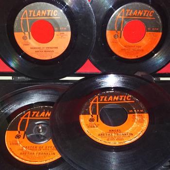 45 RPM SINGLE(S)....#107-#110 - Records