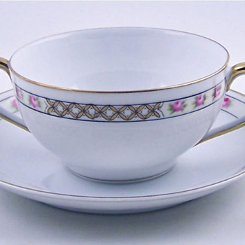 Antique Nippon Soup Bowl, such a lovely dish... - China and Dinnerware