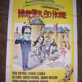 1966 Munsters poster. - Posters and Prints