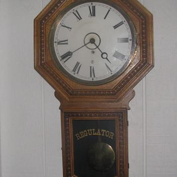 Beaver Creek, Minnesota  Railroad depot clock with history - Clocks