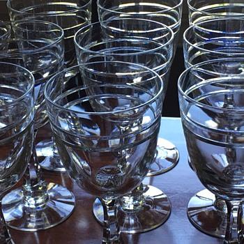 Hawkes Druid stems - Glassware