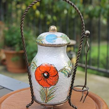 Fratelli Fanciullacci olive jar - Pottery
