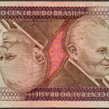 Brazil - (5000) Cruzeiros Bank Note