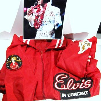 Elvis Presley . . . 1977 Tour Jacket - Music Memorabilia