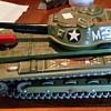 Modern Toys Japan tin tank