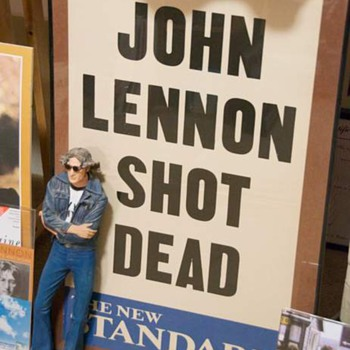 John Lennon...Dec.9, 1980...evening standard poster... - Music Memorabilia