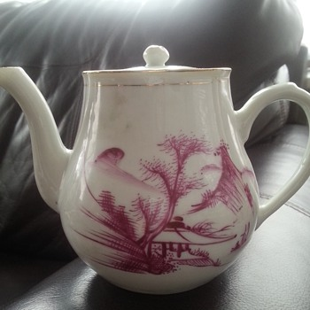 Japanese Chinese Tea Pot Signed Stamped - Asian